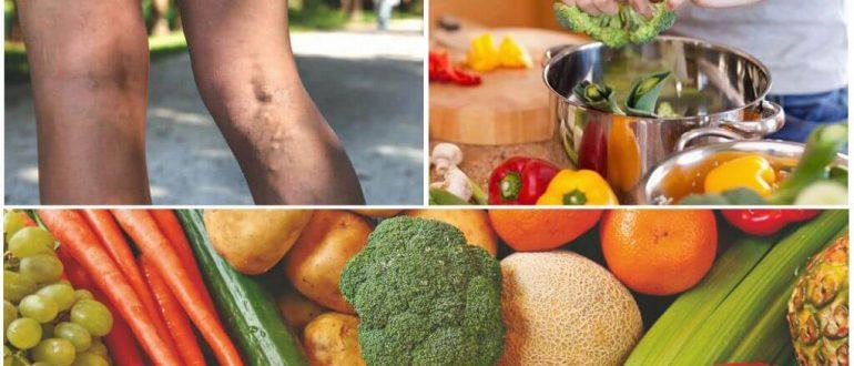 Диета при тромбозе глубоких вен нижних конечностей: питание, продукты для разжижения крови, что нельзя есть, при образовании тромбов в сосудах, меню