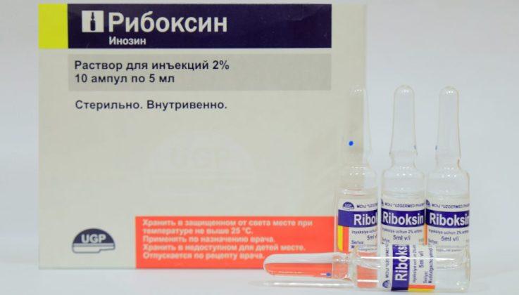 Рибоксин инъекции внутримышечно